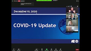 State update on COVID-19 from Dec. 10, 2020
