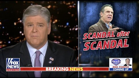 Hannity: Media was never interested in covering Cuomo scandals