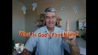 God's First Name