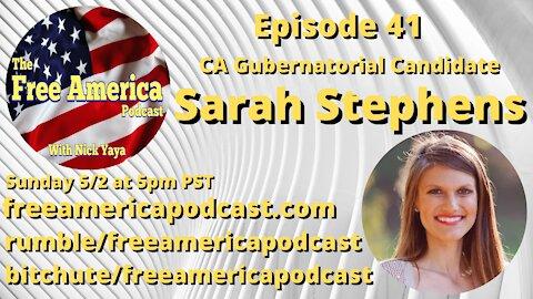 Episode 41: Sarah Stephens