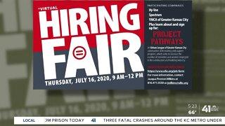 Local organization holding virtual job fair
