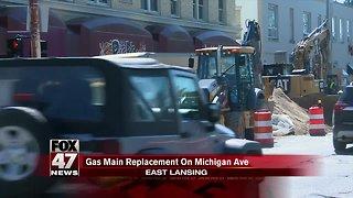 Work to begin along Michigan Avenue in East Lansing