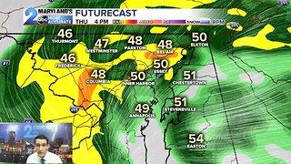 Heavy Rain Arrives Thursday