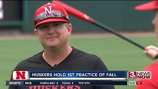 Will Bolt holds first practice as Huskers head coach