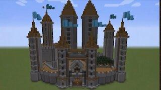 Minecraft Castle Speedbuild