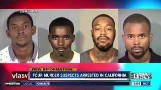 Police arrest 4 in connection with North Las Vegas fatal shooting