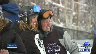 Special Olympics snowboarder brings energy to X Games