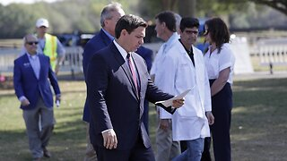 Florida Gov. Ron DeSantis Issues Stay-At-Home Order