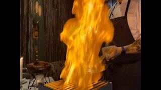 SECRET DESSERT! New 'Off the Menu' Brunch Flambe at Maple and Ash - ABC15 Digital
