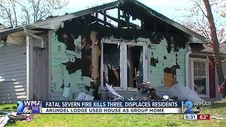 Fatal Severn Fire Kills Three, Displaces Residents