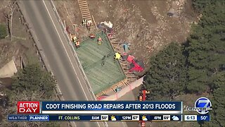 CDOT finishing repairs after 2013 floods