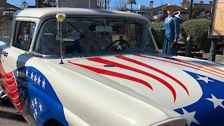 A Very Patriotic Truck