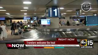Sky Harbor busy with Thanksgiving travelers