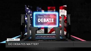 Do debates actually have an impact on presidential elections?