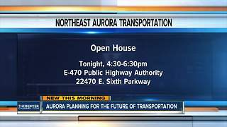 Aurora planning for the future of transportation