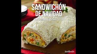 Christmas Sandwich Cake