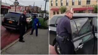 Police officer commits parking violation to buy pizza