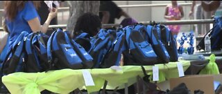 North Las Vegas backpack giveaway