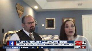 Safely surrendered awareness month
