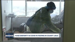Huge disparity in COVID-19 testing in county jails