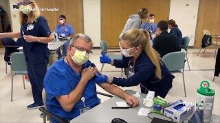 Local hospitals continue receiving COVID-19 vaccine doses