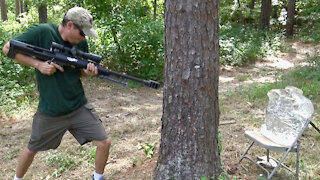 Shooting THROUGH Trees - PUBG in Real Life!