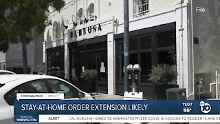 Stay-at-home order extension likely
