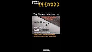 Top Verses To Memorize, Habakkuk 2:4