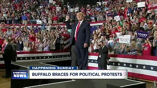 Buffalo braces for political protests