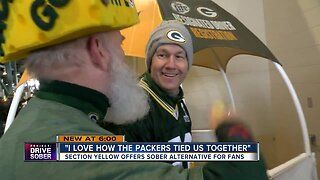 Section Yellow comes to Lambeau Field