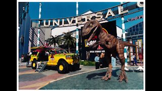 Jurassic Park The Ride Video Montage Universal Studios Hollywood