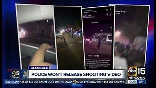 Glendale police not releasing police shooting bodycam video