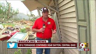 National Weather Service survey of Dayton damage