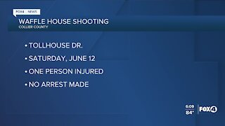 One injured in Waffle House shooting