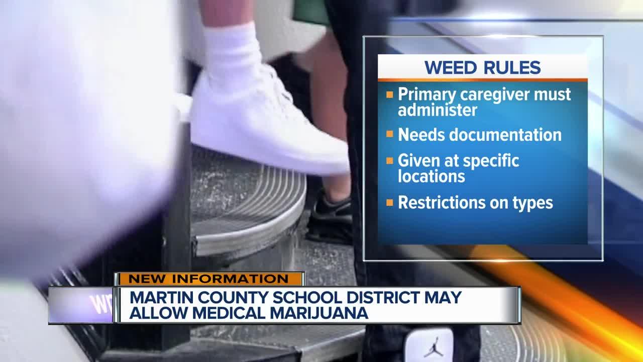 Martin County School District discuss medical marijuana policy
