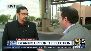 ABC15 talks with Adrian Fontes on National Voter Registration Day