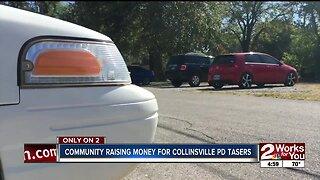 Community raising money for Collinsville PD tasers