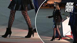 Jill Bidens fishnet stockings are receiving mixed reactions