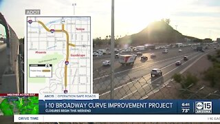 First phase of I-10 Broadway Curve Improvement Project begins this weekend