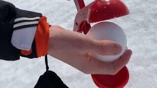 Perfect snowball = perfect headshot