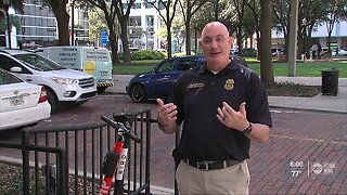 Alcohol and e-scooters don't mix during Gasparilla, officials warn