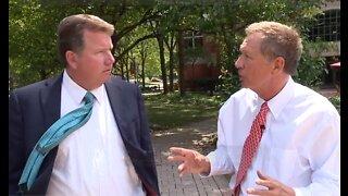 John Kasich talks with John Kosich about his DNC speech