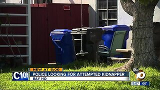 San Diego Police looking for attempted kidnapper