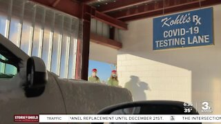 COVID testing increasing before holiday travel