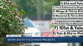 A breakdown on 7 south Tulsa road projects