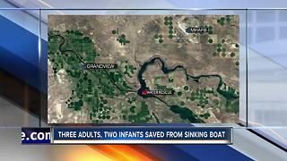 Five saved from sinking boat on CJ Strike Reservoir