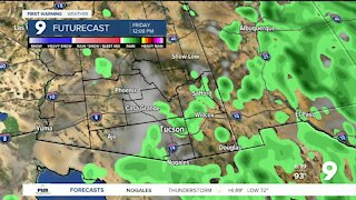 Slightly cooler temperatures arrive for the end of the week