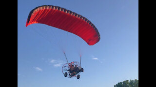 Powered Parachute Demo Flight