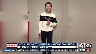 Local senior to compete in national competition