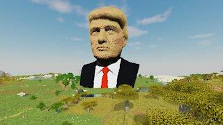 Donald Trump in Minecraft
